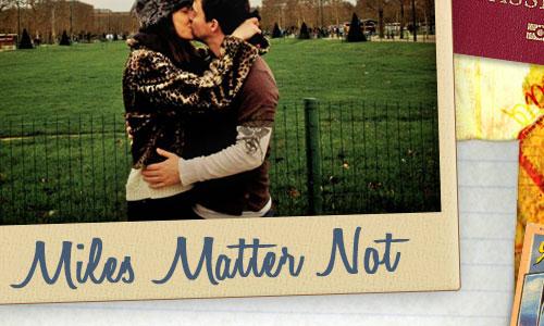 Miles Matter Not