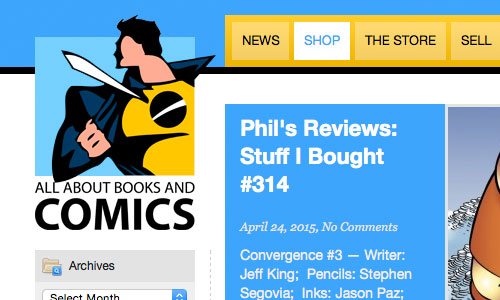 All About Books and Comics